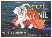 Original Vintage 1910s French Le Nil Poster Cappiello