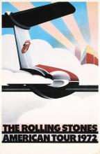 Original 1972 Rolling Stones American Tour Poster