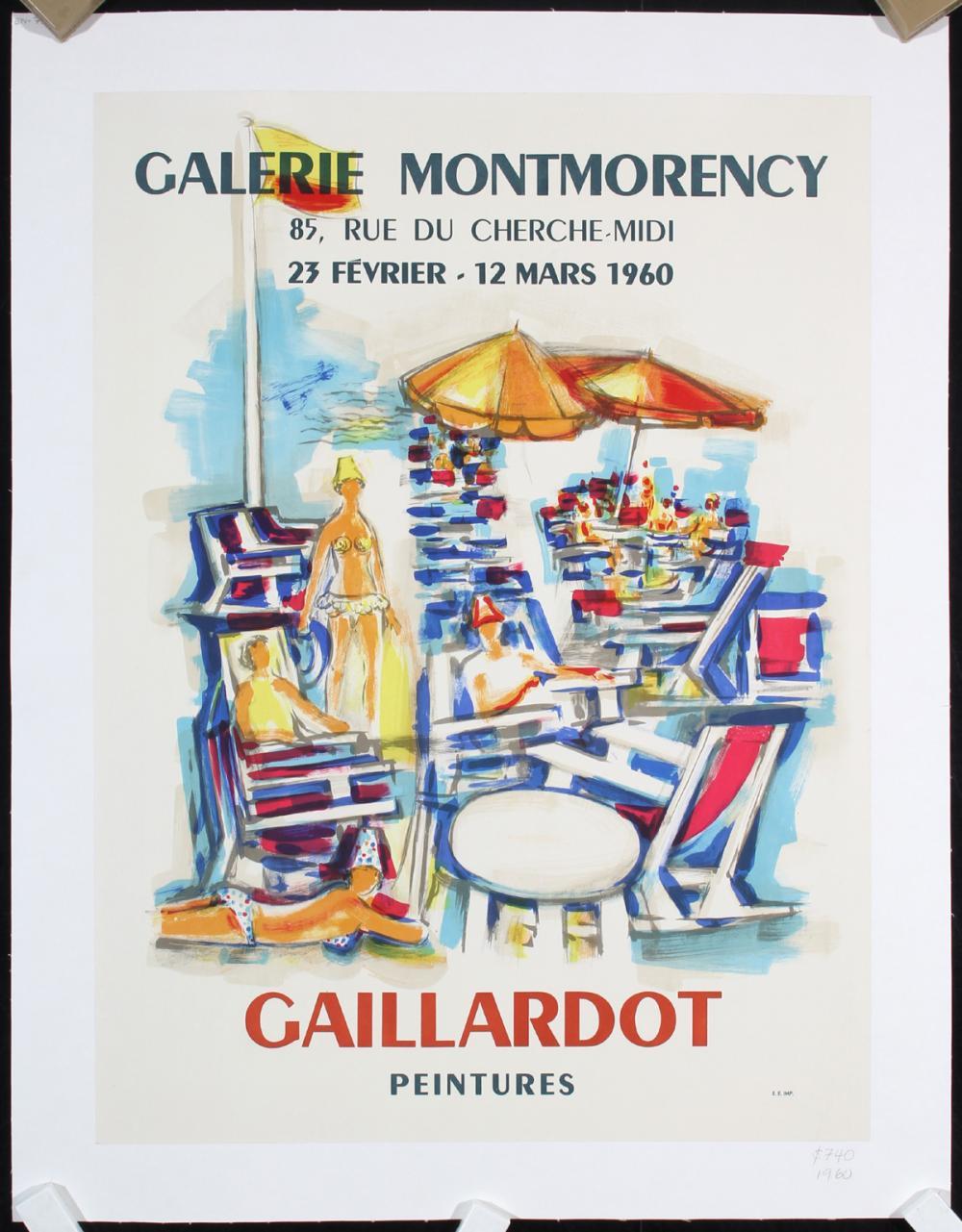 23 Rue Du Cherche Midi musee galliera - salon des tuileries (2 posters)