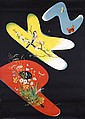Original 1930s PKZ Swiss Clothes Poster Plakat CARIGIET