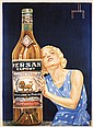 Original 1930s French Liquor Poster PERSAN EXPORT ANIS