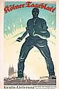 Original 1920s German Newspaper Poster Cologne