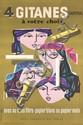 OLD ORIGINAL 1950s JEAN COLIN Gitanes Cigarette Poster