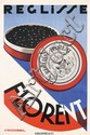 Original 1920s CASSANDRE Poster Reglisse Florent DECO