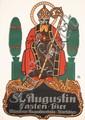 Original 1910s German Beer Advertising Poster OBERMEIER
