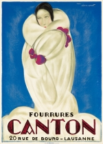 Fourrures Canton / 20 Rue de Bourg.