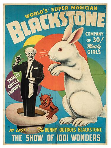 BLACKSTONE, HARRY (HENRY BOUGHTON). World's Super Magician. Blackstone.