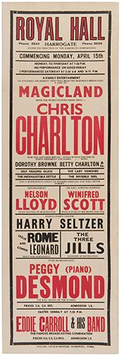 CHARLTON, CHRIS. Magicland with Chris Charlton.