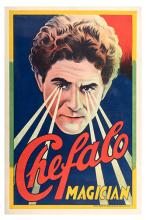 Chefalo (Raffaele Chefalo). Chefalo. Magician.