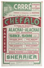 CHEFALO (RAFFAELE CHEFALO). Chefalo de Koning der Illusionisten.