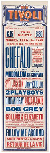CHEFALO (RAFFAELE CHEFALO). Chefalo with Maddalena and his Big Company.