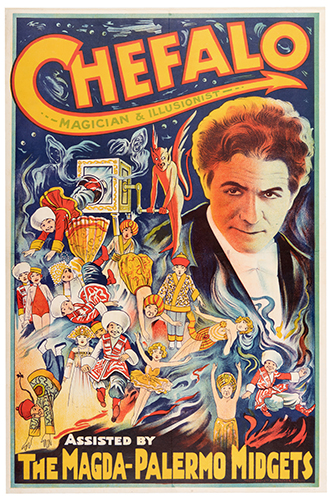 CHEFALO (RAFFAELE CHEFALO). Chefalo. Magician & Illusionist.