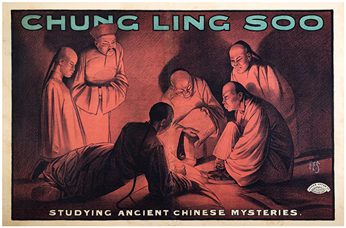 CHUNG LING SOO (WILLIAM ELLSWORTH ROBINSON). Chung Ling Soo. Studying Ancient Chinese Mysteries.