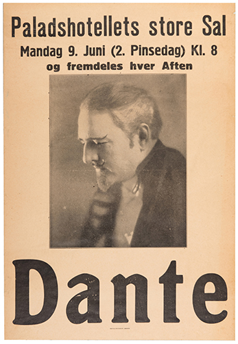 Dante (Harry August Jansen). Dante.