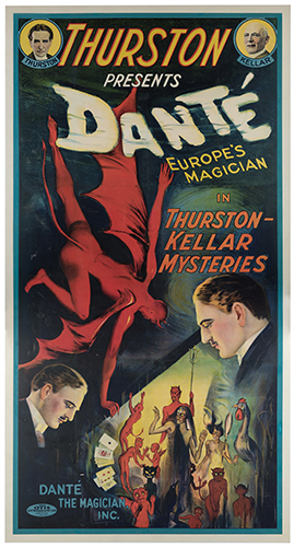 DANTE (HARRY AUGUST JANSEN). Thurston Presents Dante. Europe's Magician.