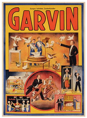 GARVIN. (SCHWEIZER FRANZ). Garvin.