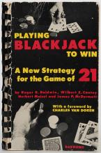 Baldwin, Roger R. Playing Blackjack to Win.