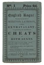The English Rogue: Described in the Life of Meriton Latroon, A Witty Extravagant.
