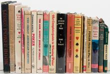 Group of 18 Vintage Books on Poker.