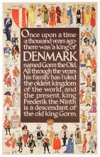 Thelander, Henry (1902-1986). Kings of Denmark.