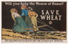 PENFIELD, Edward (1866–1925). Will You Help the Women of Fr...