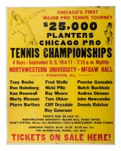 PlanterÍs Chicago Pro Tennis Championships. Northwestern University.