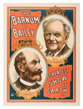 The Barnum & Bailey Greatest Show on Earth.