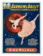 Bird Millman. Barnum & Bailey Greatest Show on Earth.