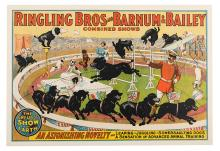Ringling Brothers and Barnum & Bailey. Trained Dogs.