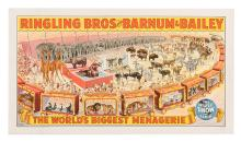 Ringling Bros. and Barnum & Bailey. The WorldÍs Biggest Menagerie.
