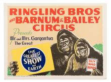 Ringling Bros. and Barnum & Bailey Circus Presents Mr. and Mrs. Gargantua the Great.