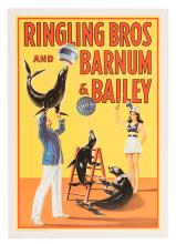 Ringling Bros. and Barnum & Bailey Circus. Trained Seals.
