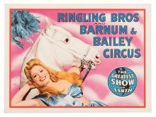 Ringling Bros. and Barnum & Bailey Circus. Horse and Rider.