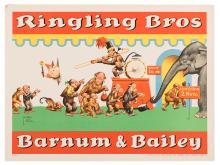 Ringling Bros. and Barnum & Bailey Circus. Animals at the Circus.