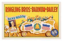 Ringling Bros. and Barnum & Bailey Circus. Band Wagon.