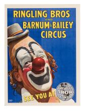 Ringling Bros. and Barnum & Bailey Circus. Clown.