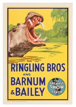 Ringling Bros. and Barnum & Bailey. Hippo.