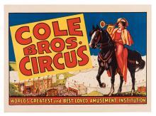 Cole Bros. Circus.