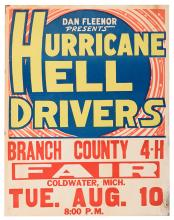 Dan Fleenor Presents Hurricane Hell Drivers.