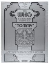 The Who Tommy Final Performance Poster.