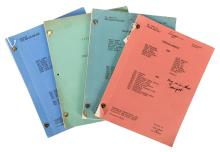 Group of Four Classic 1960s Television Scripts. Beverly Hillbillies and Others.