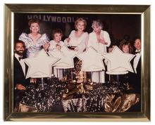 Photograph of The Golden Girls 100th Episode Celebration.