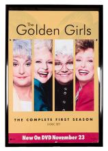 The Golden Girls DVD Release Party Poster.