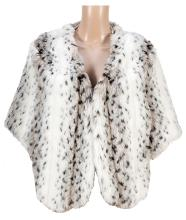 Faux Stole With Matching Muff Owned and Worn by Rue McClanahan.