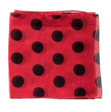 Red Polka Dot Scarf Owned and Worn by Rue McClanahan.
