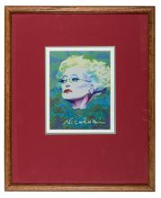 Portrait of Rue McClanahan as Madame Morrible.