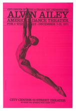 Alvin Ailey American Dance Theater Poster.
