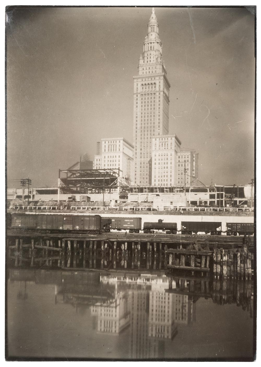 BOURKE–WHITE, MARGARET (1904–1971). [TERMINAL TOWER, CLEVEL...
