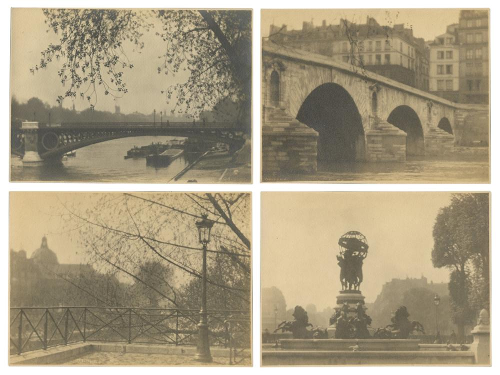 ODIORNE, WILLIAM C. (AMERICAN ,1881-1978). PARIS, PHOTOGRAP...