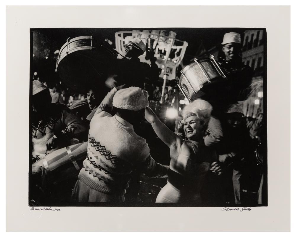 SALAS, OSVALDO (CUBAN, 1914-1992). CARNIVAL. HAVANA, 1972. ...